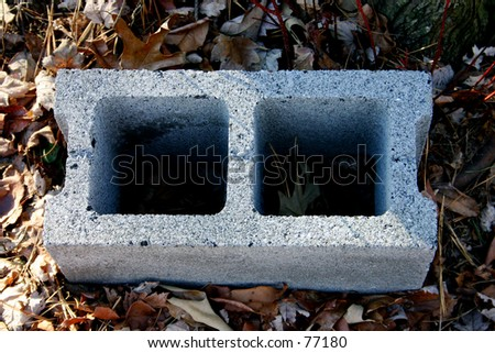 Cinder Block - stock photo
