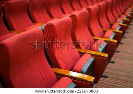Cinema Chairs - stock photo