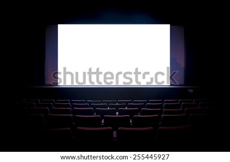 Cinema Theater - stock photo