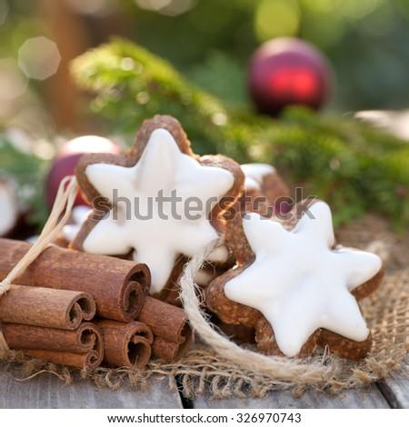 Cinnamon Cookies - stock photo