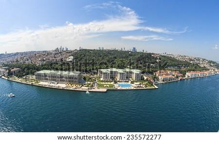 Ciragan Palace of Istanbul - stock photo