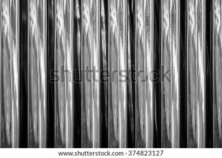 circle pipe aluminium steel,aluminum tubes background - stock photo