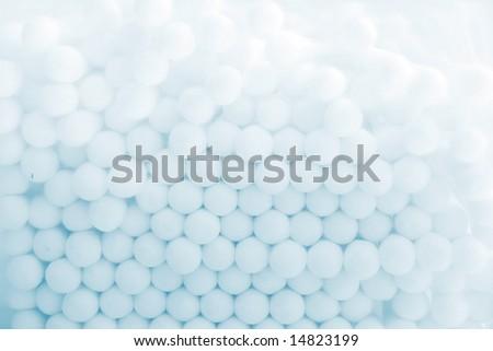 circles abstract texture blue tones - stock photo
