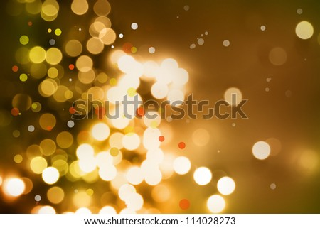 Circles on brown tone background. - stock photo