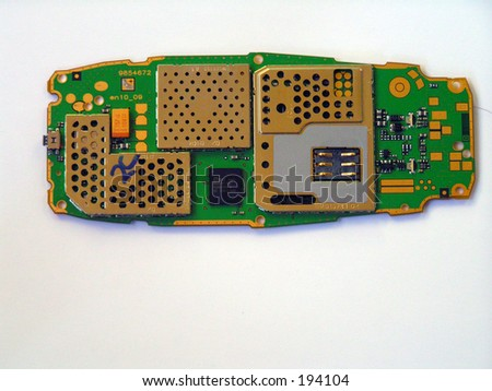 Circuit Card - stock photo