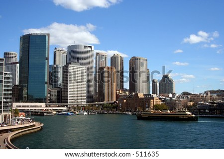 Circular Quay - Sydney - stock photo