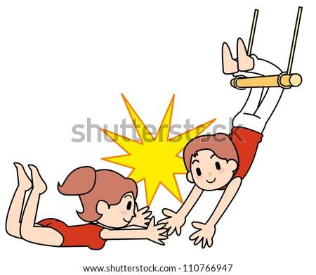 Circus acrobat cartoon - photo#7