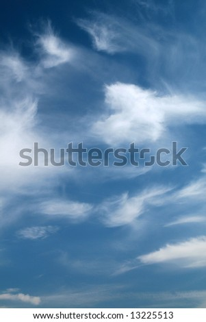 Cirrus - stock photo