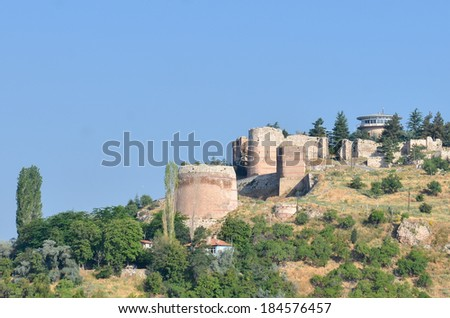 Citadel of Kutahya - Turkey - stock photo