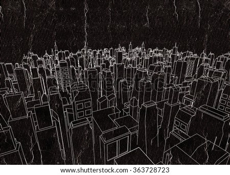city architecture - stock photo