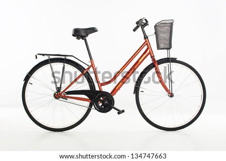 city bike, - stock photo