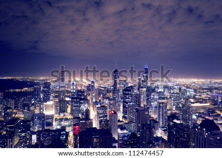 City Downtown - stock photo
