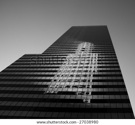 City Group Center and US Bank Tower, Los Angeles - stock photo