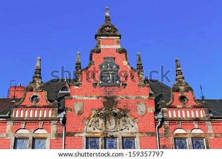 City Hall Dahme/Mark - stock photo