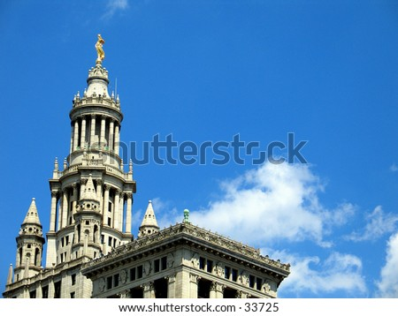 City Hall in NYC - stock photo