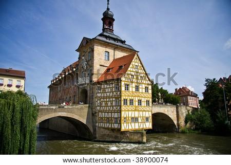 City Hall of Bamberg, Germany - stock photo