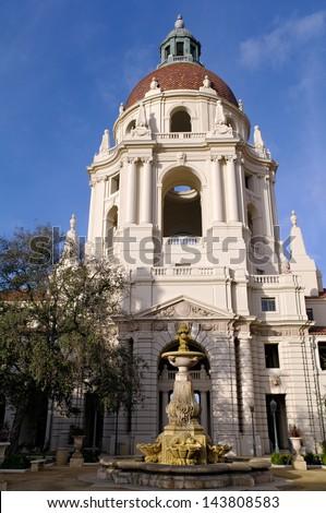 City Hall. Pasadena, California, USA. - stock photo