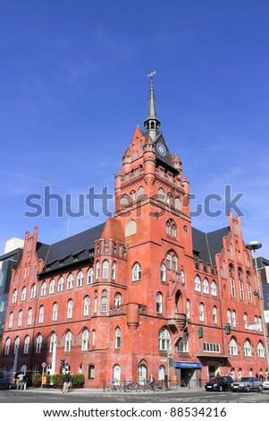 City Hall Steglitz - stock photo