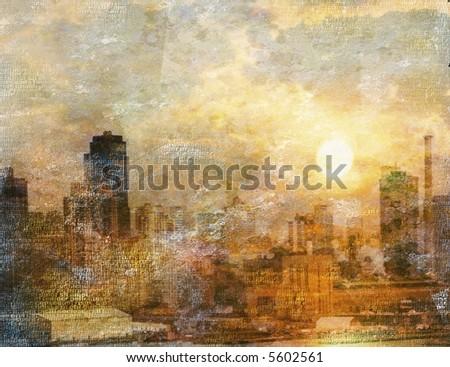 City Impression - stock photo