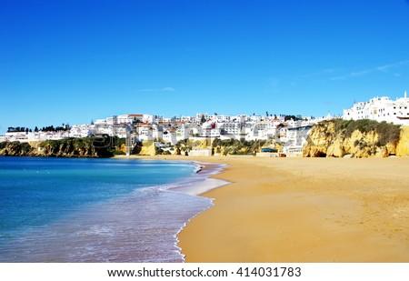 City of Albufeira,Algarve, Portugal  - stock photo