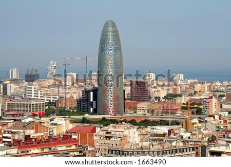 City of Barcelona, Spain - stock photo