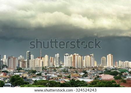 City of Belem do Para, north of Brazil  - stock photo