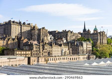 City of Edinburgh (Scotland) - stock photo