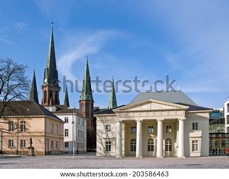 City of Oldenburg, Germany - stock photo