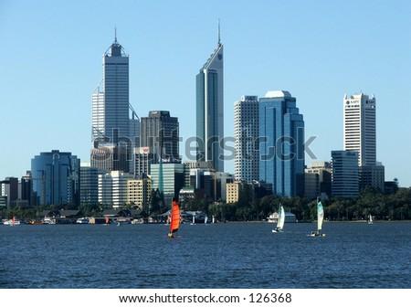 City of Perth - stock photo