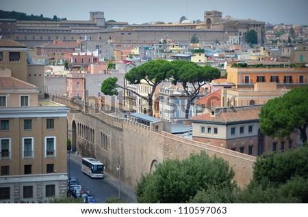 City of Rome - stock photo