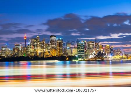 City of Sydney, Australia - stock photo