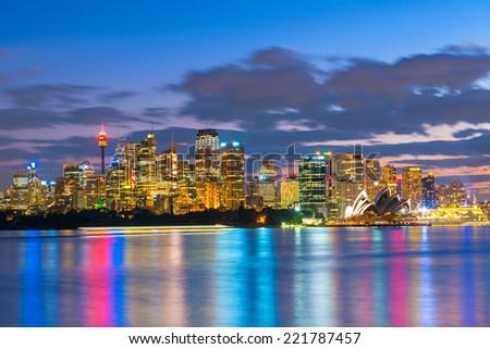 City of SydneySydney, NSW, Australia - stock photo