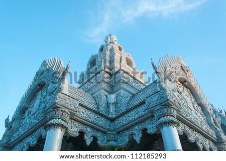 City Pillar Shrine of Nan, Thailand - stock photo