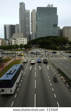 City Scene - stock photo