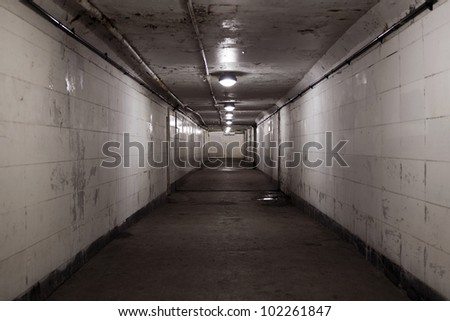 City Tunnel - stock photo