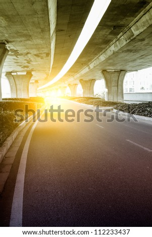 City Viaduct - stock photo