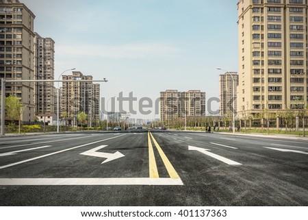 city way - stock photo