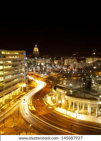Civic Center in Denver, Colorado. - stock photo