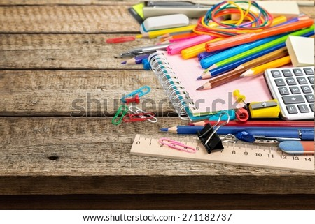 Class, school, isolated. - stock photo