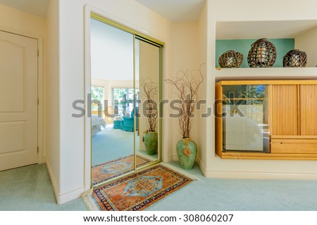 Hallway home stock photos images pictures shutterstock for Classic american house interior