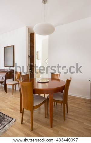 Classic Dining Room - stock photo