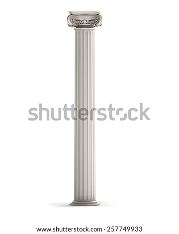 Classic Ionic Column - stock photo