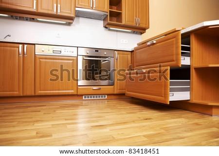Classic kitchen - stock photo