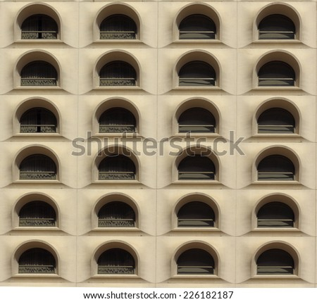 Classic Old Windows - stock photo