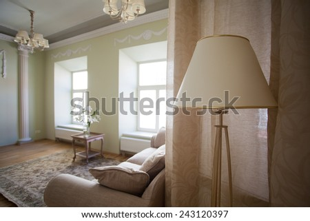 Classical apartment - stock photo
