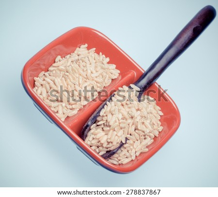 classical food--bean,cereal - stock photo