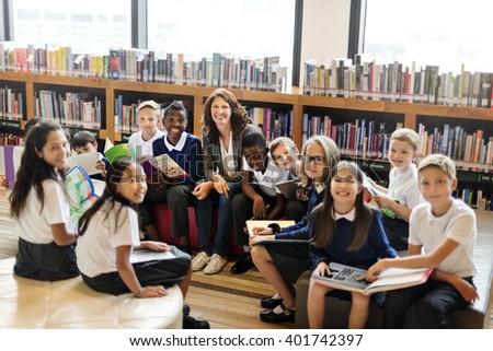 Classroom Learning Mathematics Students Study Concept - stock photo