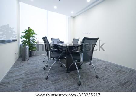 Classroom, Office,meeting room, boardroom - stock photo