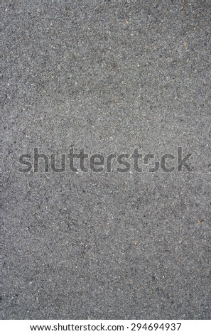 Clean asphalt surface of the road - stock photo