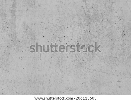 clean concrete wall - stock photo